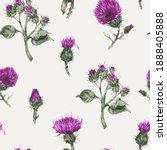 Seamless Pattern With Vector...