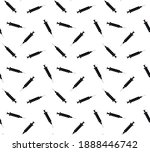 syringe seamless pattern.... | Shutterstock .eps vector #1888446742