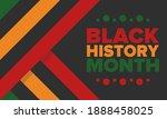 black history month. african...   Shutterstock .eps vector #1888458025