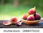 Ripe Sweet Figs. Healthy...