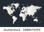 world map  infographics flat...   Shutterstock . vector #1888476595