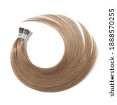 Small photo of Pre Bonded Straight Stick Tip (i tip fusion)Light Brown Human Hair Extensions