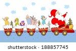 illustration of children at... | Shutterstock . vector #188857745