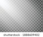 transparent sun shine.... | Shutterstock .eps vector #1888609402