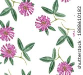 seamless pattern with... | Shutterstock . vector #1888610182