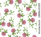 seamless pattern with... | Shutterstock . vector #1888610185