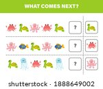 what comes next with cute... | Shutterstock .eps vector #1888649002