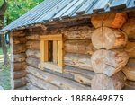 Wooden Houses Made Of Logs...