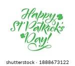 happy saint patrick's day... | Shutterstock .eps vector #1888673122