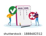 tiny male characters with huge... | Shutterstock .eps vector #1888682512