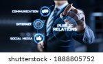 Pr Public Relations Concept....