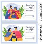 insurance horizontal banner set ... | Shutterstock .eps vector #1888828165