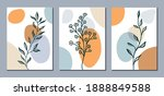 set of abstract modern shapes... | Shutterstock .eps vector #1888849588