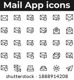 mail app and web ui icons