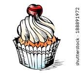 cake | Shutterstock .eps vector #188891972