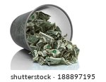Garbage Can Full Of Money...
