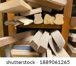 A Selection Of Scrap Wood Cut...