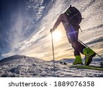 Ski Mountaineering In The...