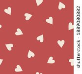 hand drawn seamless vector... | Shutterstock .eps vector #1889080882