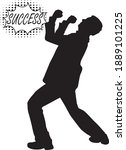 silhouettes people  conceptual.... | Shutterstock .eps vector #1889101225