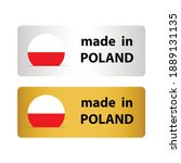 made in poland vector stamp.... | Shutterstock .eps vector #1889131135