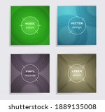 vintage vinyl records music...   Shutterstock .eps vector #1889135008