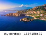 Taormina Is A City On The...