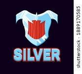 silver game ui shield award...