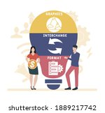 flat design with people. gif  ...   Shutterstock .eps vector #1889217742