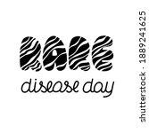 world rare disease day... | Shutterstock .eps vector #1889241625