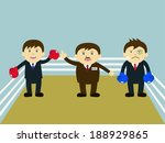 vector illustration of cartoon... | Shutterstock .eps vector #188929865