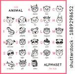 Cute Animal Alphabet For Kids....