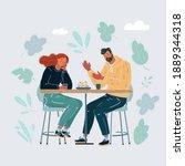 cartoon vector illustration of...   Shutterstock .eps vector #1889344318