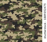camouflage seamless pattern... | Shutterstock .eps vector #1889352475