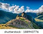 Machu Picchu An Over View Abov...