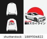 japanese streetwear design ... | Shutterstock .eps vector #1889506822