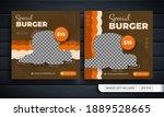 Burger Themed Flyer Or Social...
