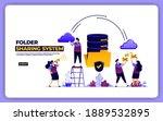 website design of folder...