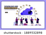 banner illustration of download ...