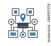 sitemap navigation related...   Shutterstock . vector #1889557378