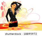 abstract  background for... | Shutterstock .eps vector #18895972