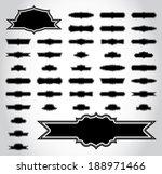 silhouette vector set of 41...   Shutterstock .eps vector #188971466
