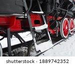 Retro Train. Locomotive Of The...