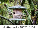 Weathered Wooden Birdhouse ...