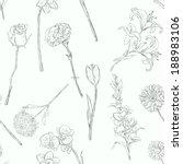 vector seamless pattern of...   Shutterstock .eps vector #188983106