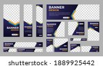 abstract banner design web... | Shutterstock .eps vector #1889925442