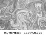 liquify swirl black and white...   Shutterstock . vector #1889926198