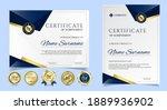 certificate of appreciation... | Shutterstock .eps vector #1889936902