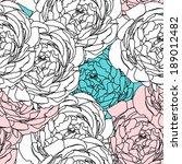 flower pattern seamless  eps 10   Shutterstock .eps vector #189012482