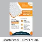 creative business flyer...   Shutterstock .eps vector #1890171208